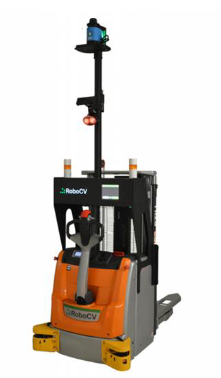 Робот-штабелер RoboCV